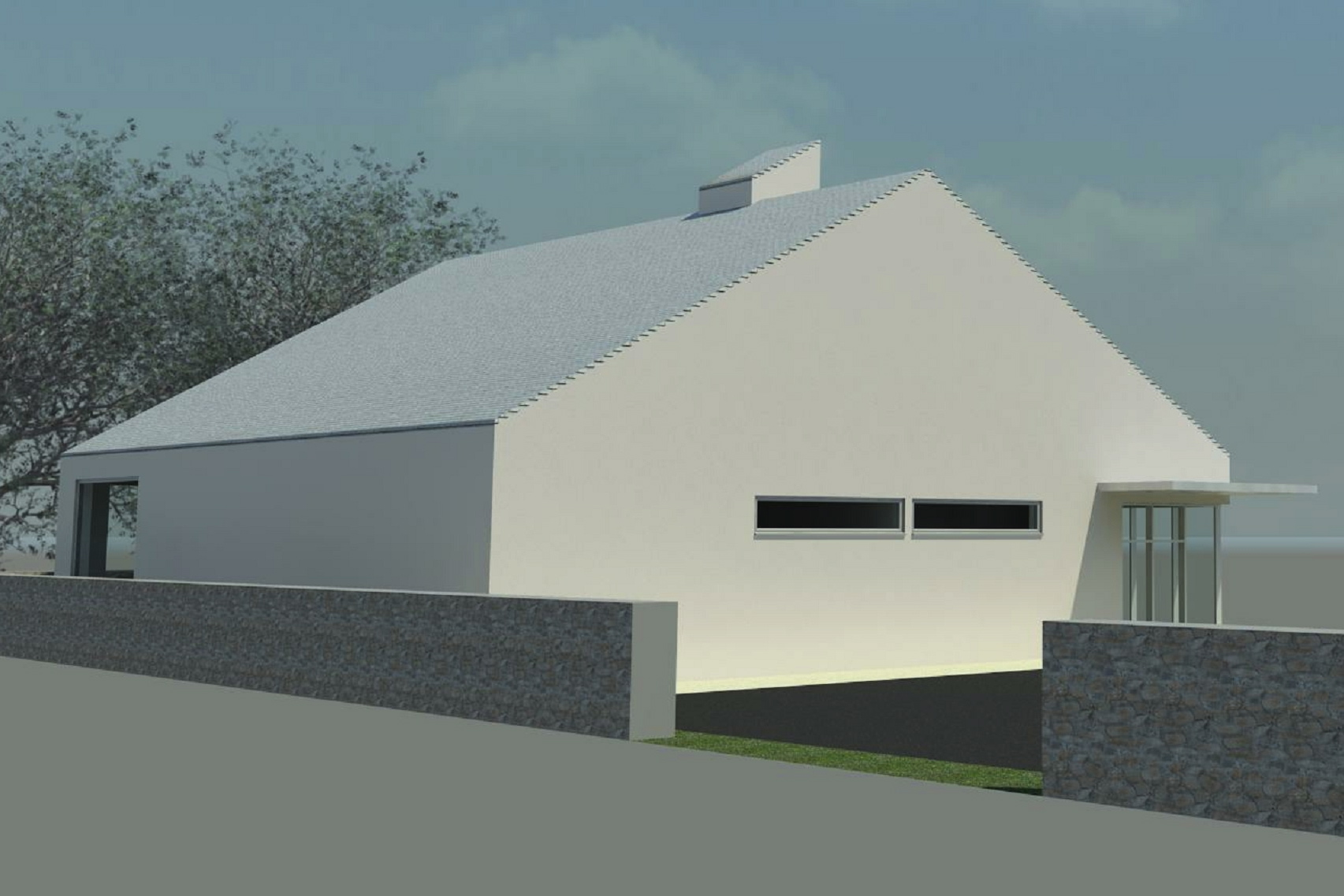 melling 3 small sq plan - Rendering - 3D View 2_8